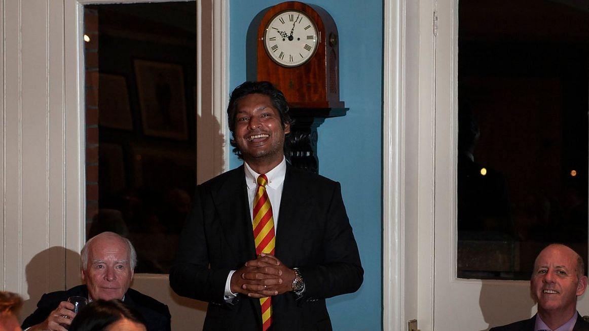 MCC president Kumar Sangakkara will captain a 12-member squad for the tour.