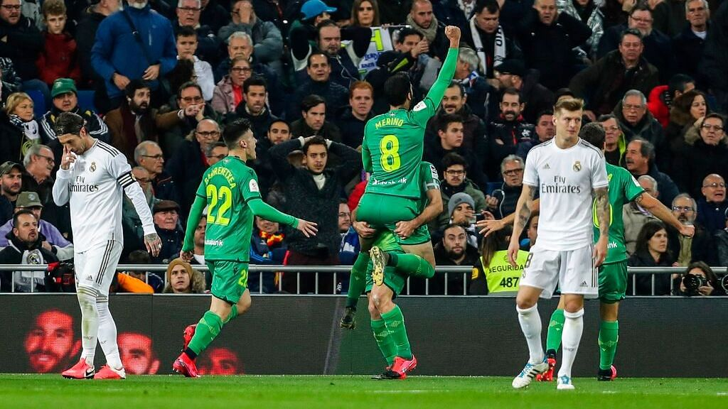 Both Real Madrid and Real Sociedad scored three second-half goals.