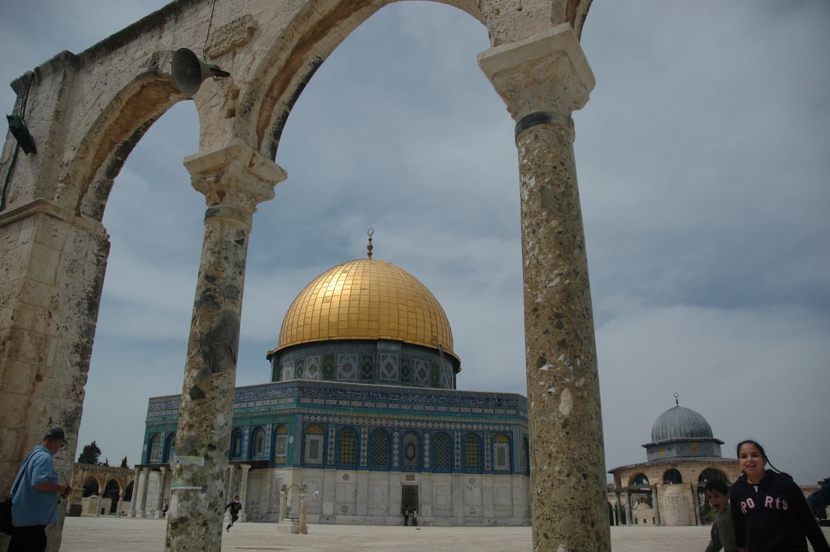 Dome of the Rock, the third most religious place for Muslims, sits atop a 35-acre platform -  the most explosive piece of real estate on earth.
