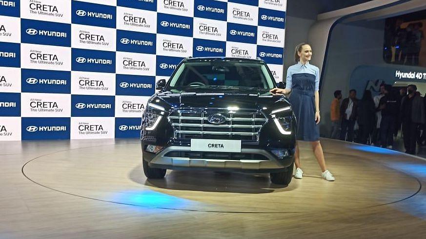 Auto Expo 2020: BS-VI Ready 2nd Generation Hyundai Creta Unveiled