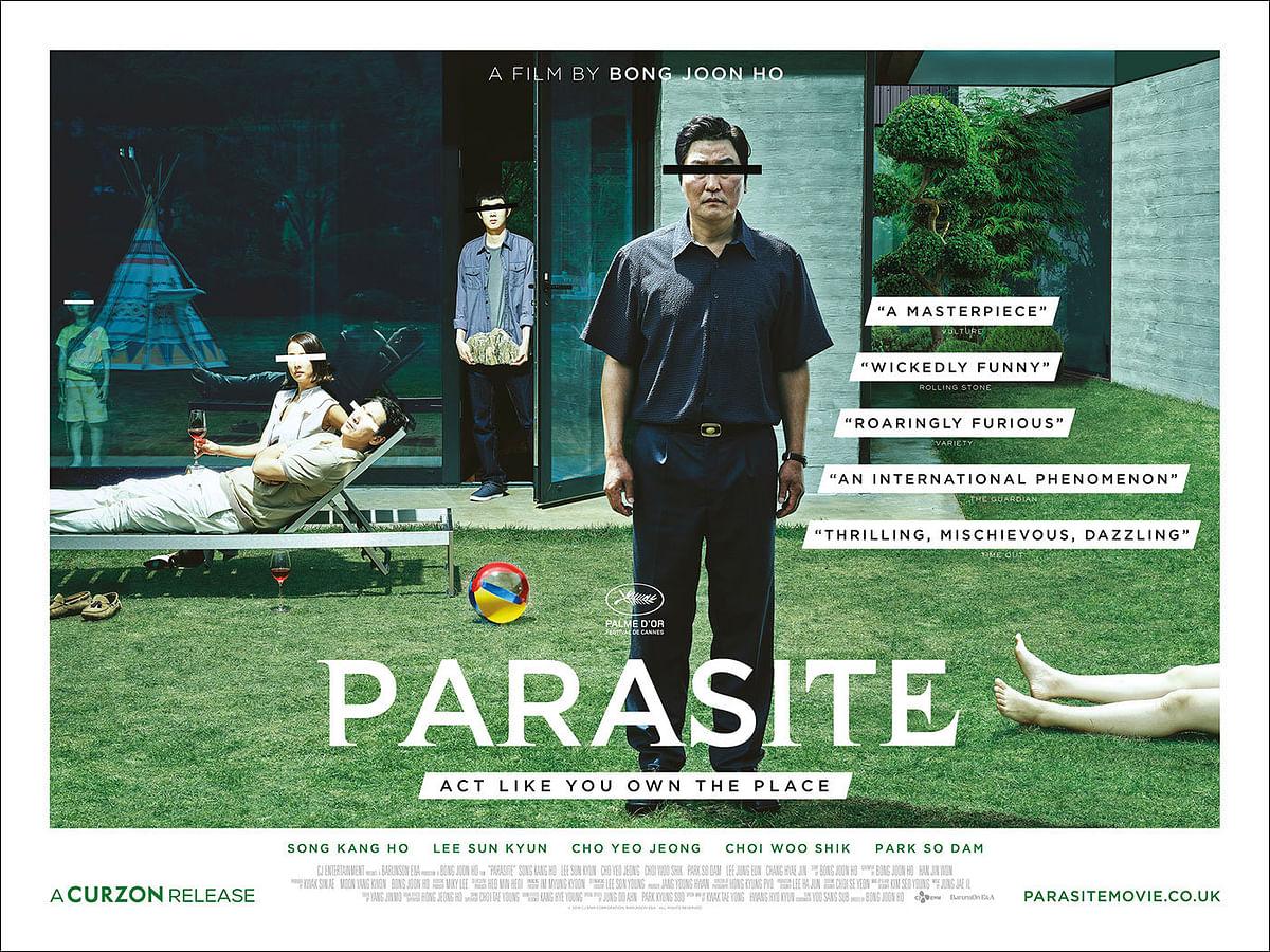 A poster of <i>Parasite.</i>