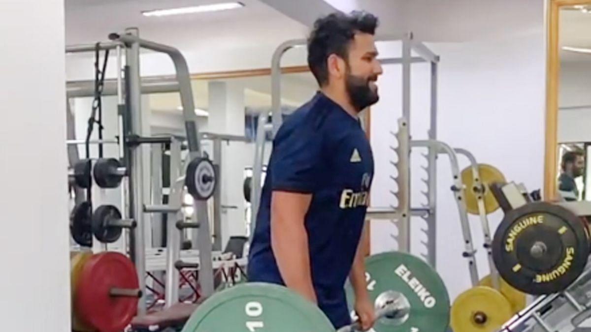 Harbhajan Singh Trolls Rohit Sharma on Workout Video