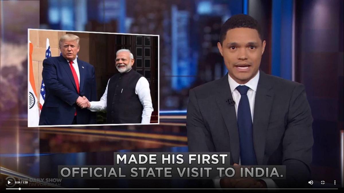 Trevor Noah Reacts to Delhi Violence and Trump-Modi Meet