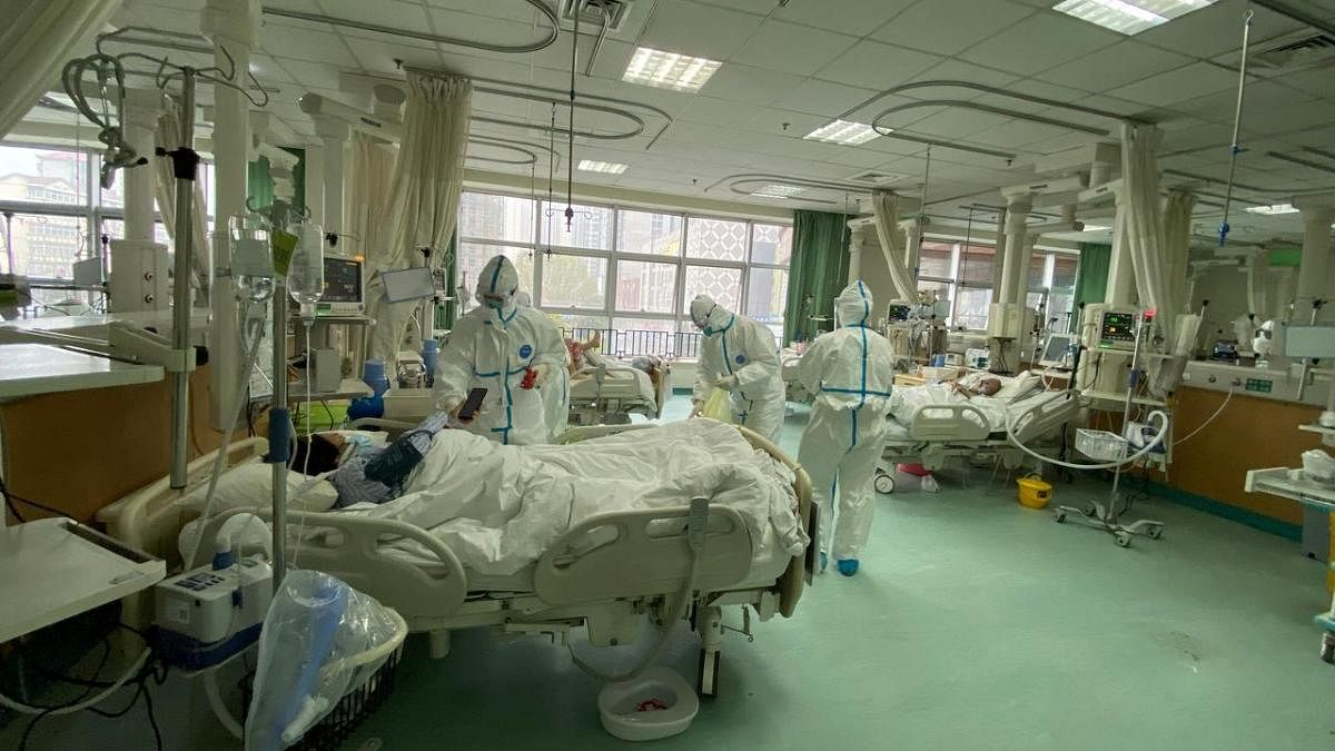China's National Health Commission (NHC) said the new confirmed cases declined to 394