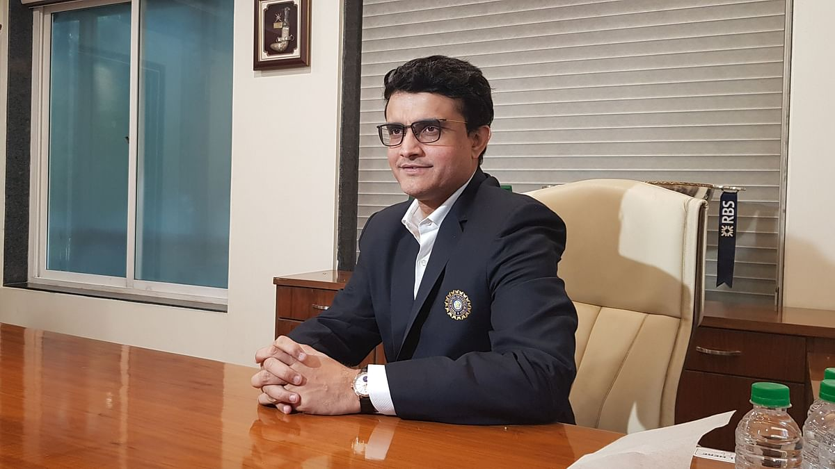 BCCI Prez Ganguly Heads to UK, 4-Nation Series Talks in Pipeline