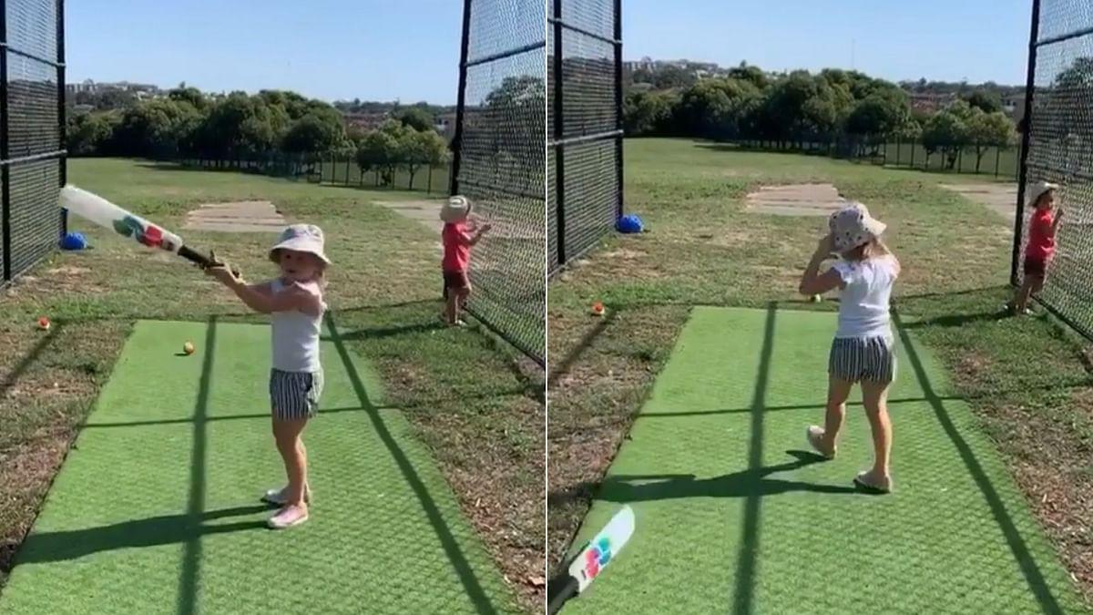 David Warner Trolls Daughter for Loosing Cool While Batting