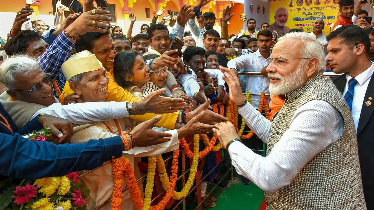 Prime Minister Narendra Modi  in Varanasi. File photo.