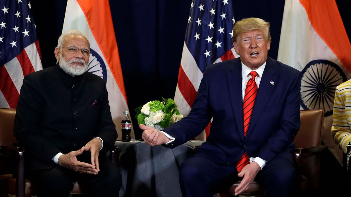PM Narendra Modi and US President Donald Trump.