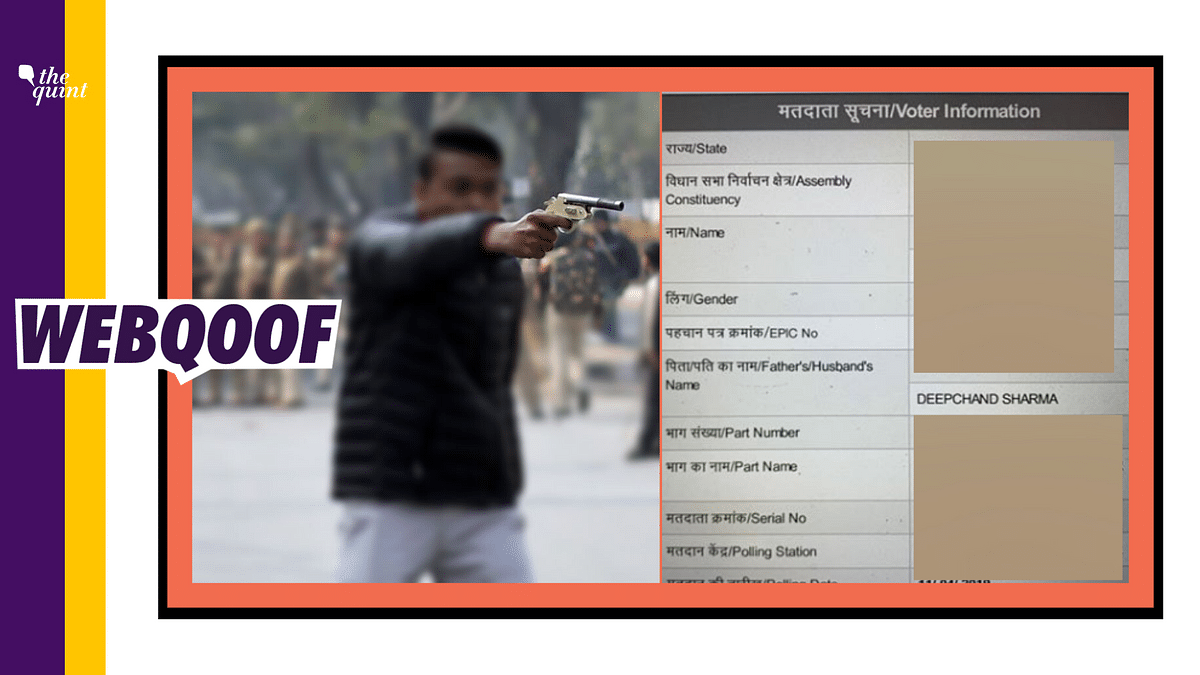 Wrong Voter ID Circulated to Claim Jamia Shooter is Not a Minor
