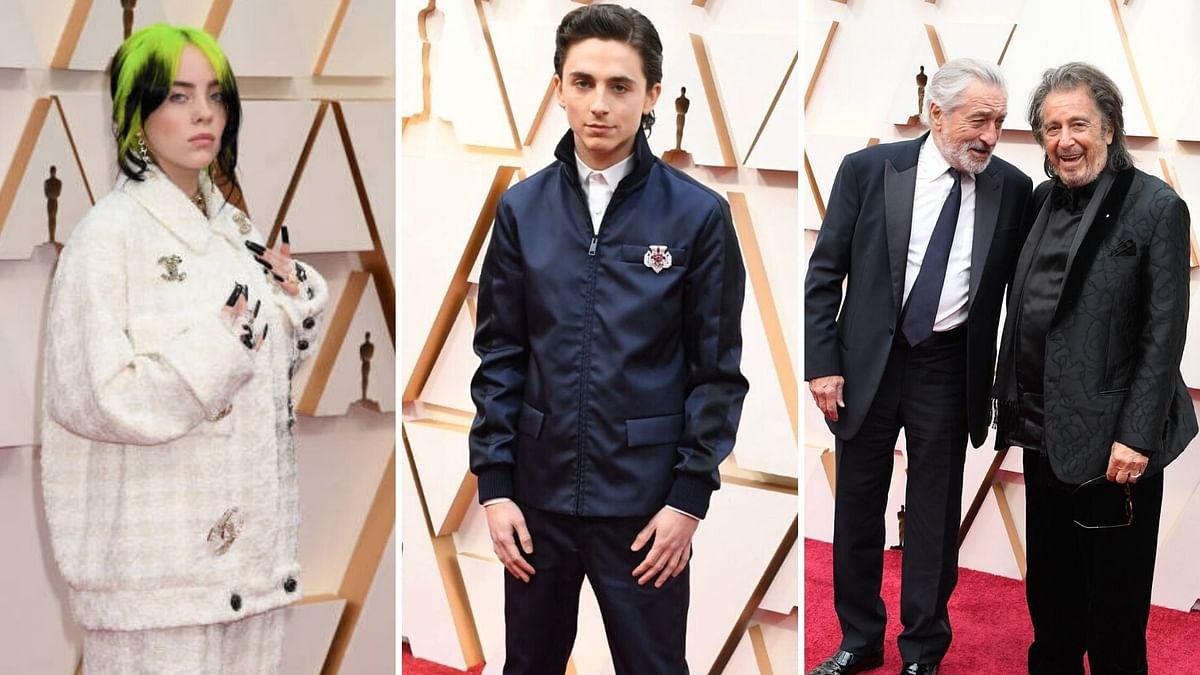 Pics: Billie Eilish, Timothee, Robert De Niro at Oscars Red Carpet