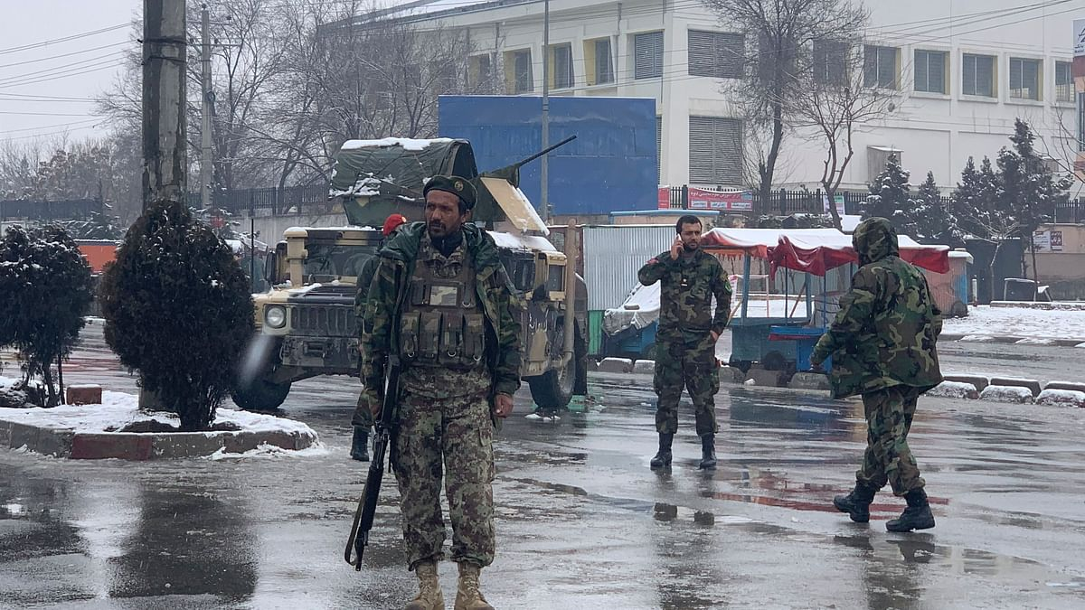Six Killed in Suicide Bombing Near Military Academy in Kabul
