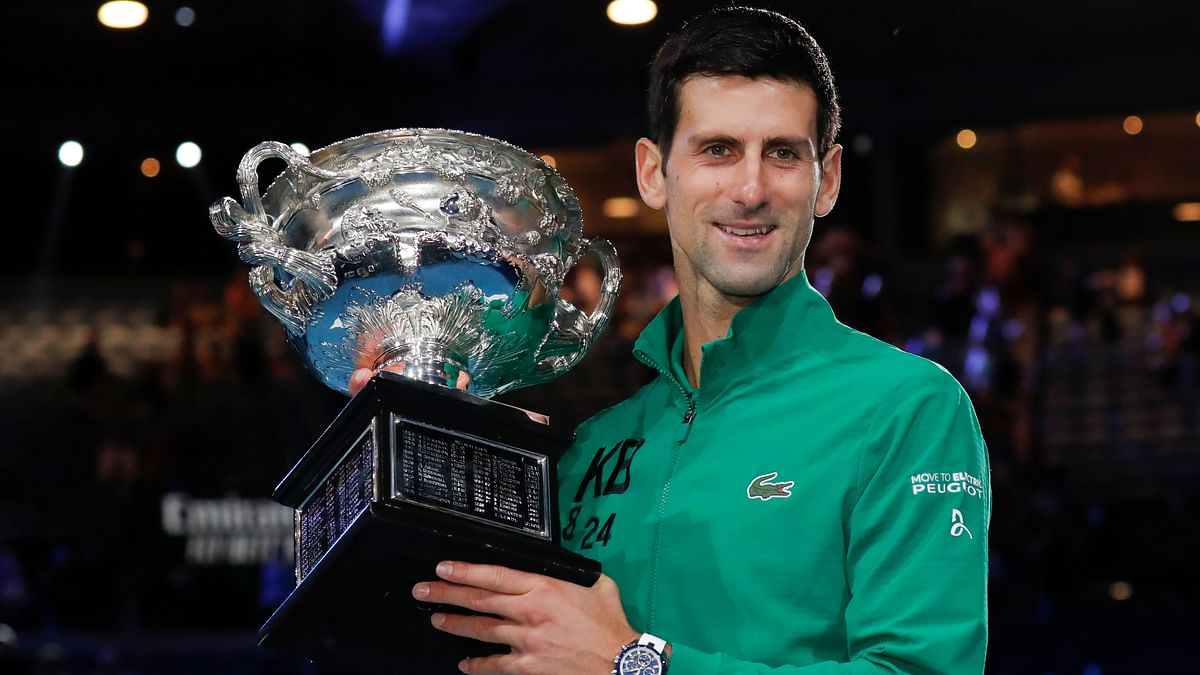 Djokovic Bags 8th Aus Open Title With a Five-Set Win over Thiem