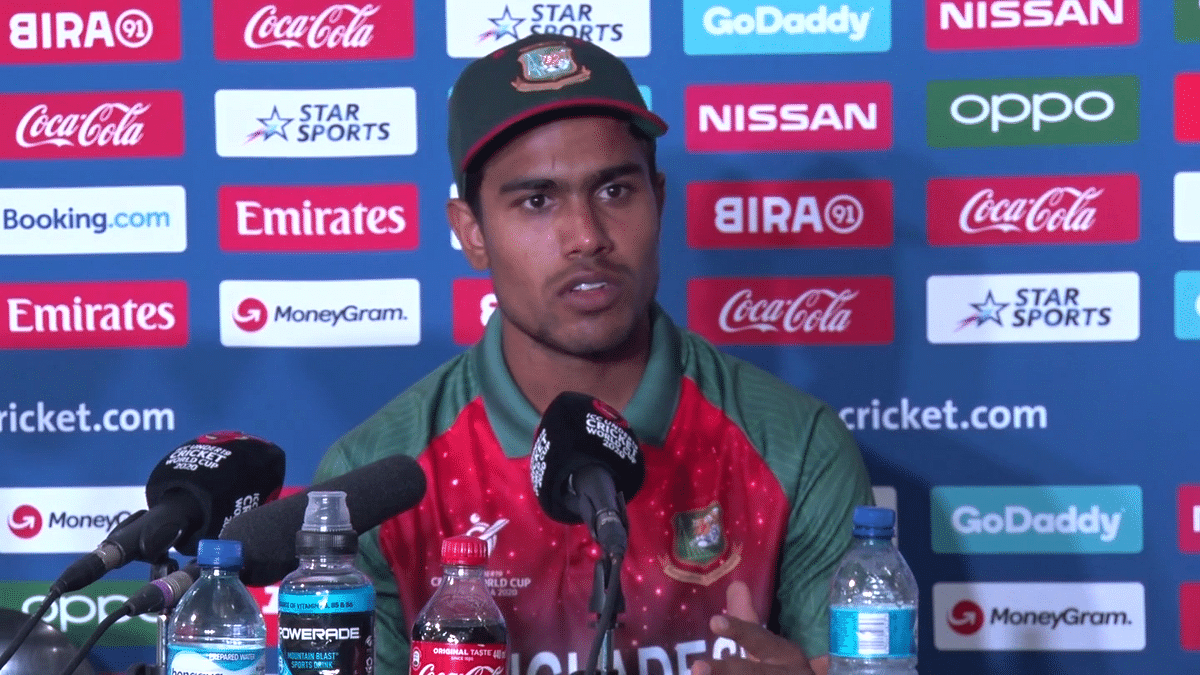 B'Desh Skipper Akbar Ali Apologises For Ugly Spat After WC Final