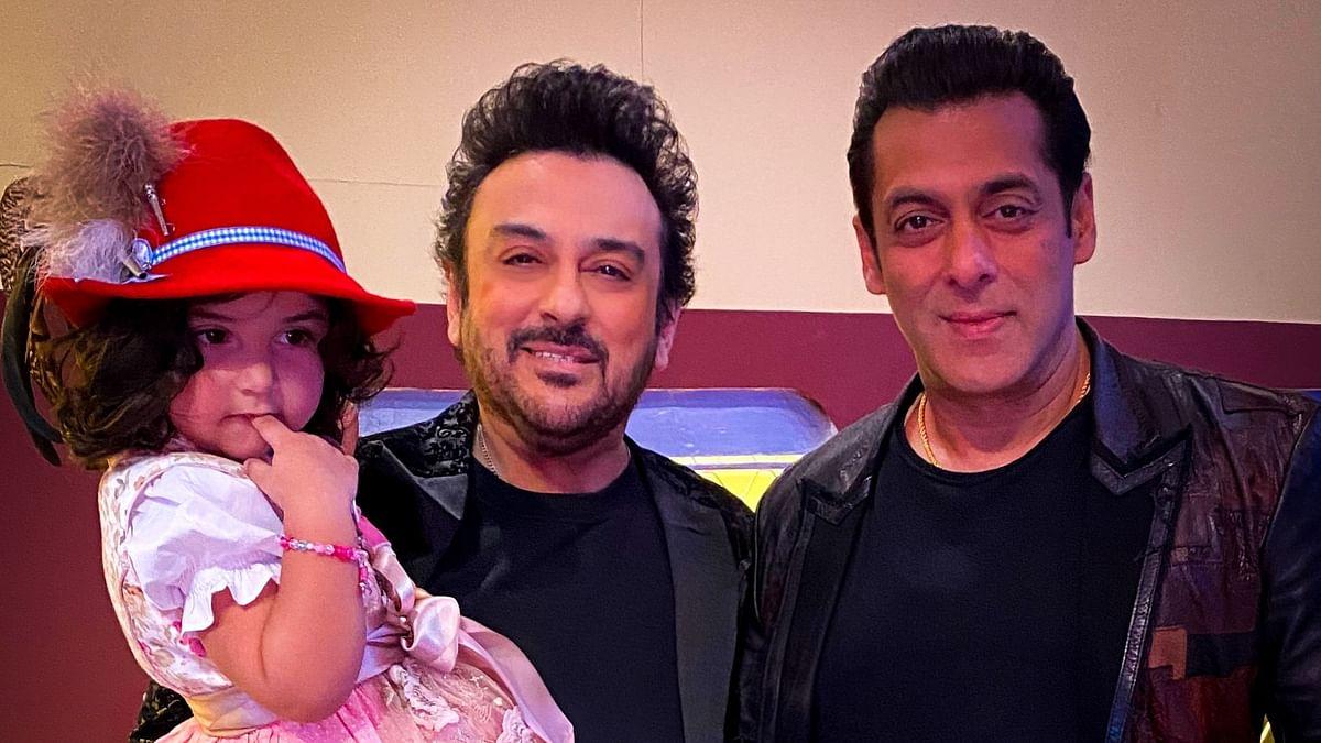 Adnan Sami Takes Daughter Along to Meet Salman Khan on 'Bigg Boss'
