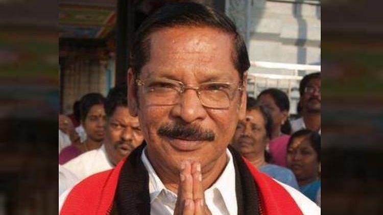 RS Bharathi, DMK MP.