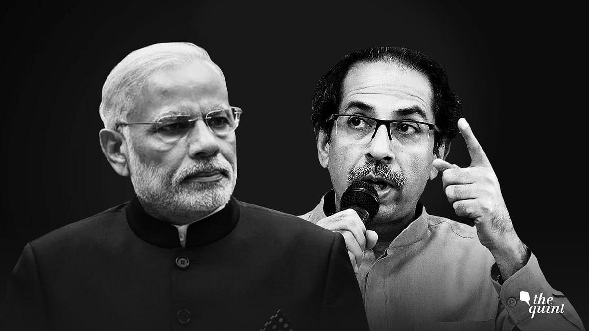Prime Minister Narendra Modi and  Maharashtra CM Uddhav Thackeray.