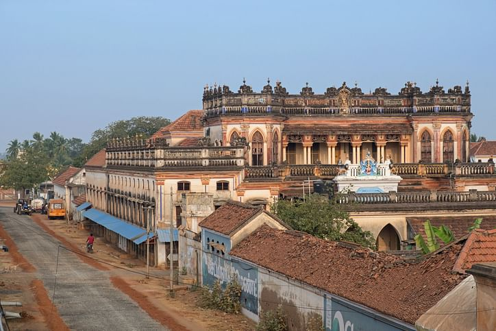 Chettinad is a cluster of 76 villages in south Tamil Nadu.