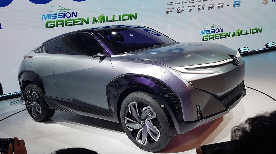 Auto Expo 2020 Maruti Suzuki Unveils Futuro E - Electric SUV Coupe