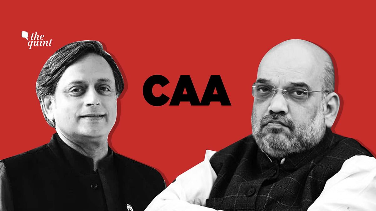 Did Congress divide India? Home Minister Amit Shah gets a lesson in history from Dr Shashi Tharoor.