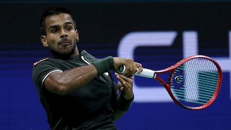 Sumit Nagal went down in straight sets against Lithuania's Ricardas Berankis
