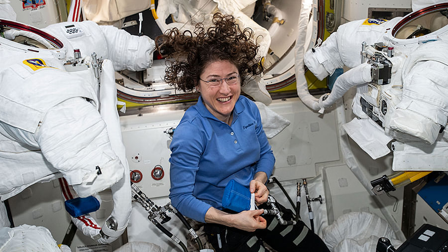 US Astronaut Back to Earth After Longest Space Mission by a Woman