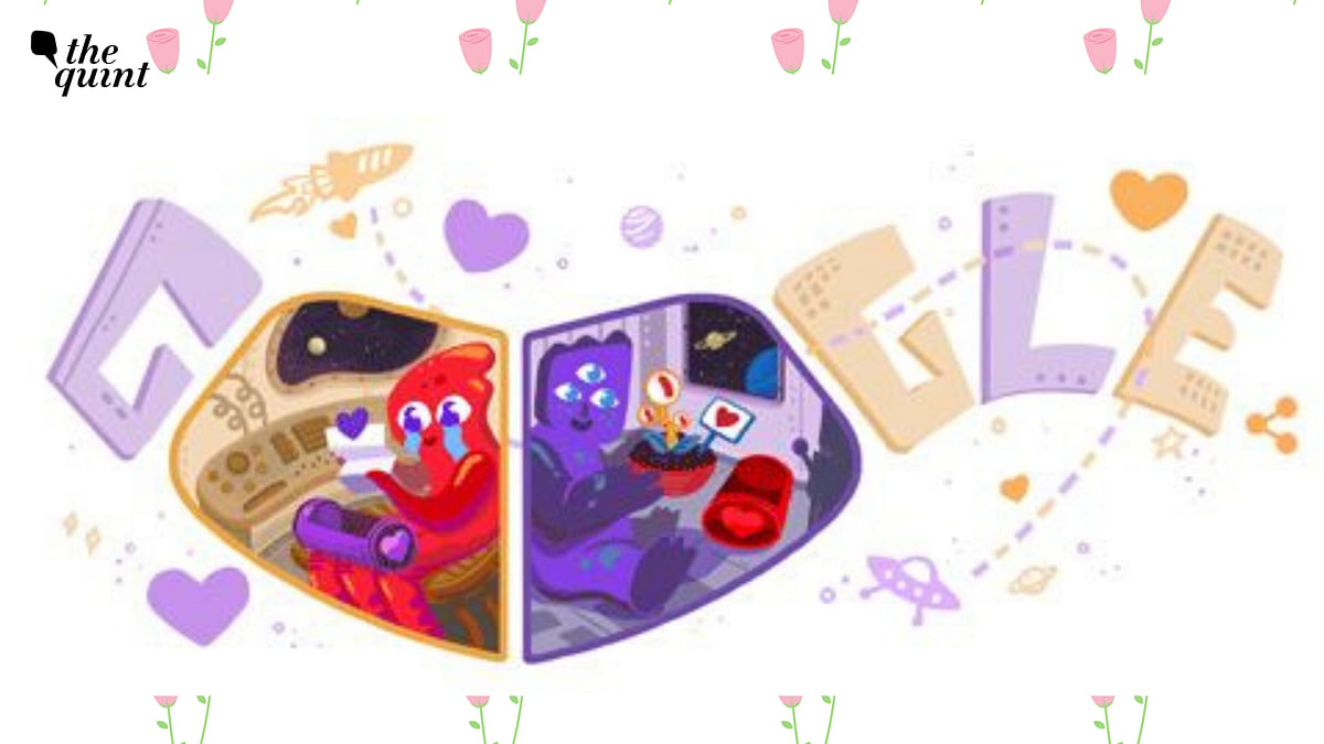 Google's new doodle on Valentine's Day doesn't get a India release