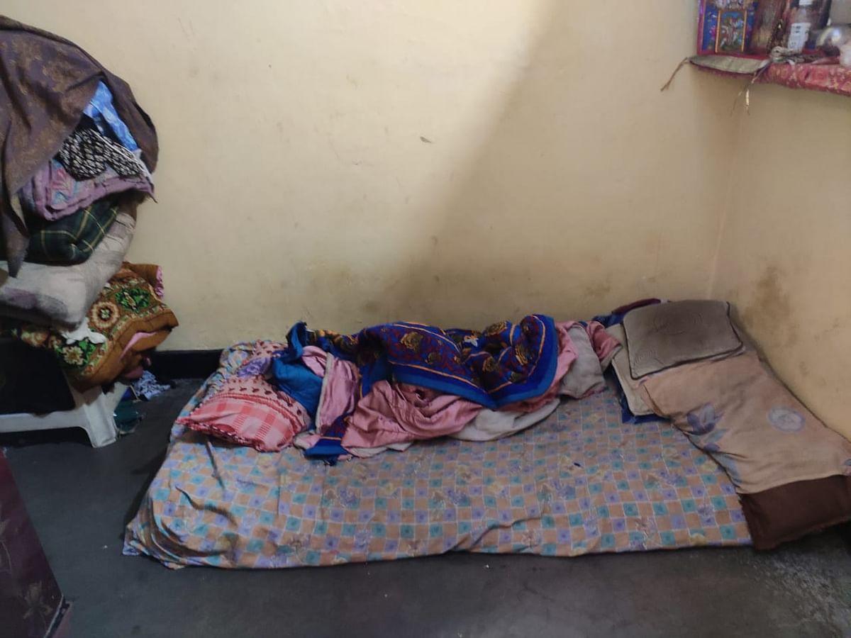 Inside a house in Mangolpuri.