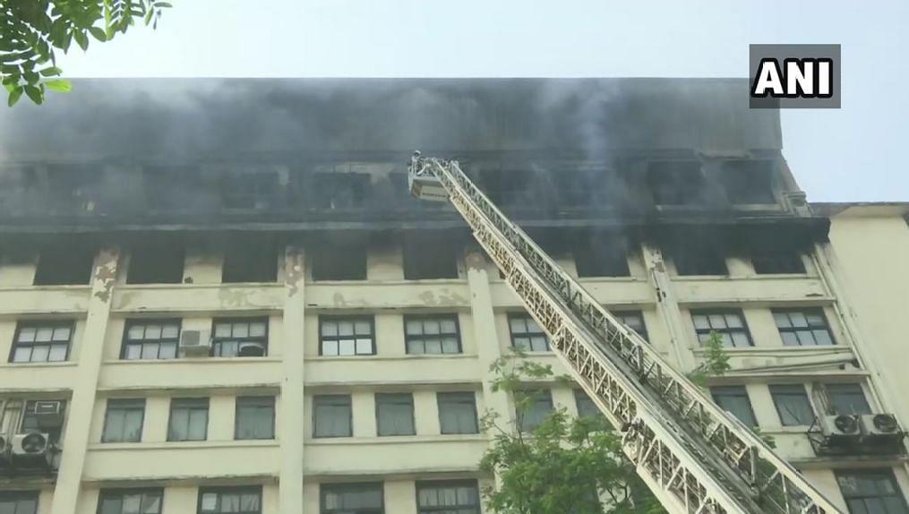 Massive Fire Breaks Out at GST Bhavan in Mumbai's Mazagaon