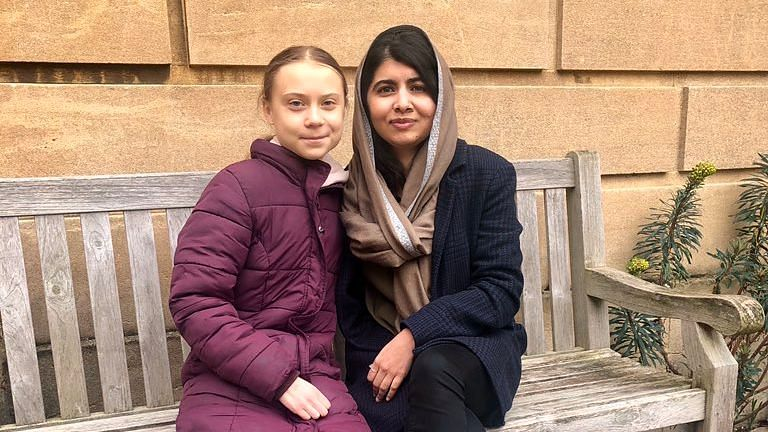 'Only Friend I'd Skip School For': When Greta Met Malala