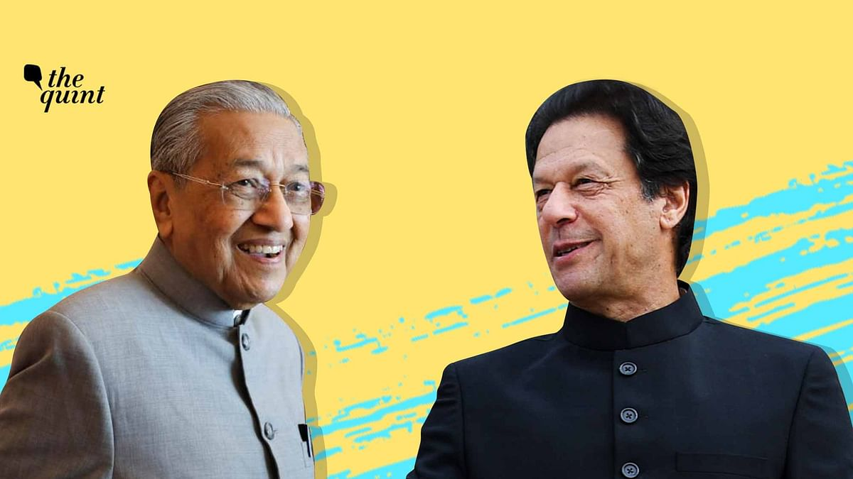Image of Malaysia PM Mahathir (L) and Pakistan PM Imran Khan used for representational purposes.