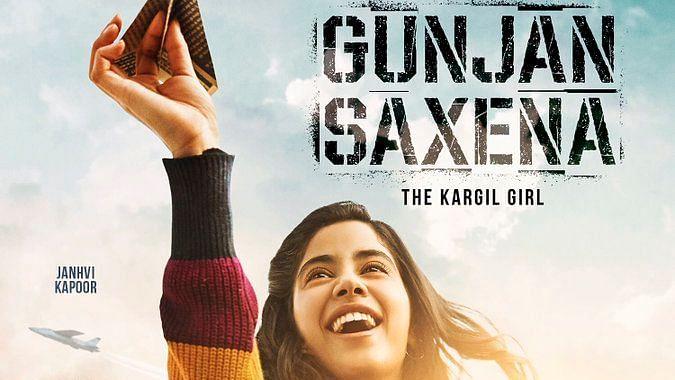 Janhvi Kapoor in and as Gunjan Saxena: The Kargil Girl