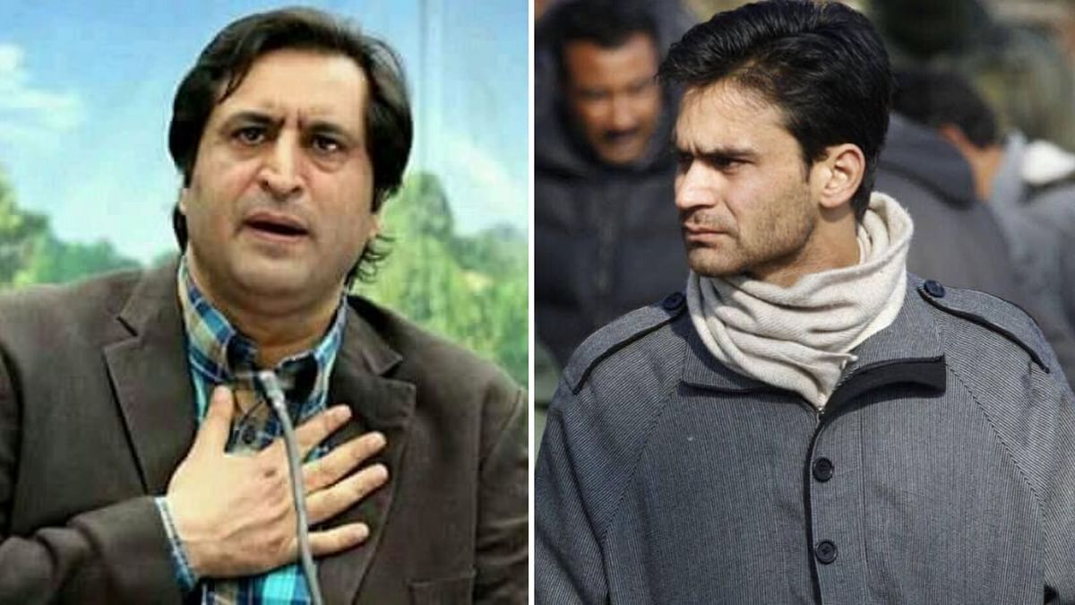 People's Conference chairman Sajjad Lone and PDP leader Waheed Parra.