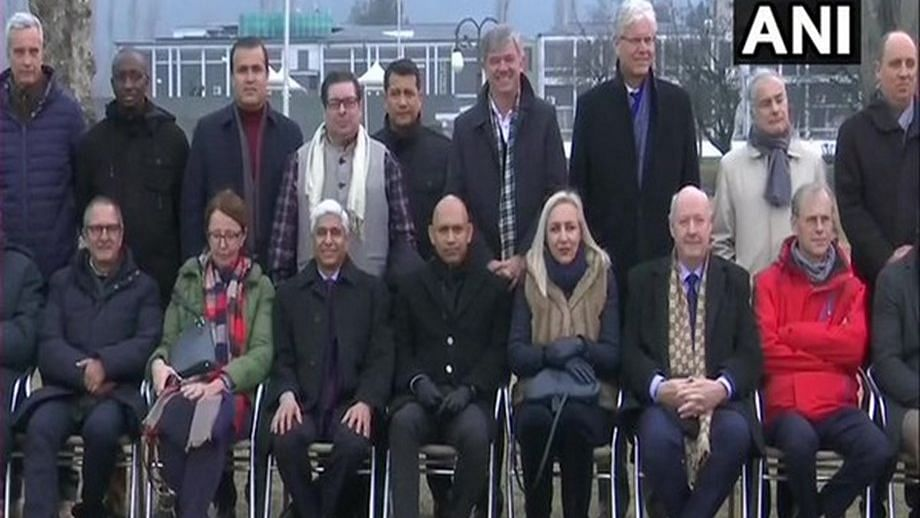 Second batch of foreign diplomats in the valley