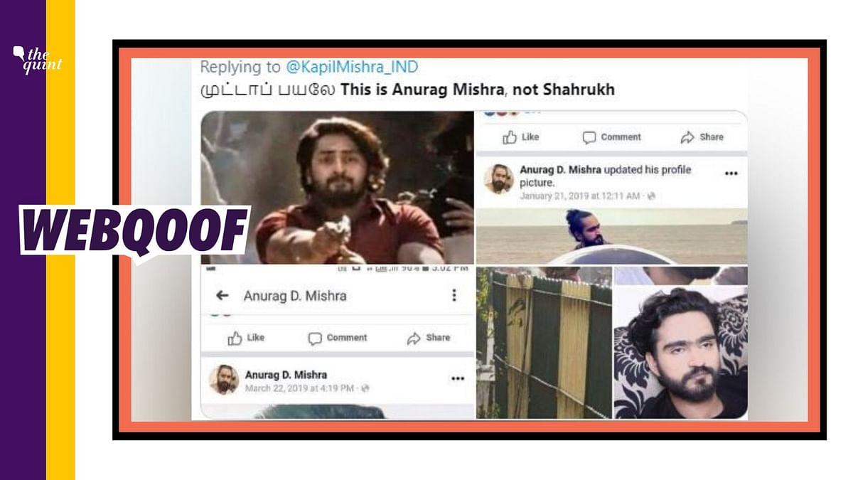 Jaffrabad Shooter Was Identified as Shahrukh, Not Anurag Mishra