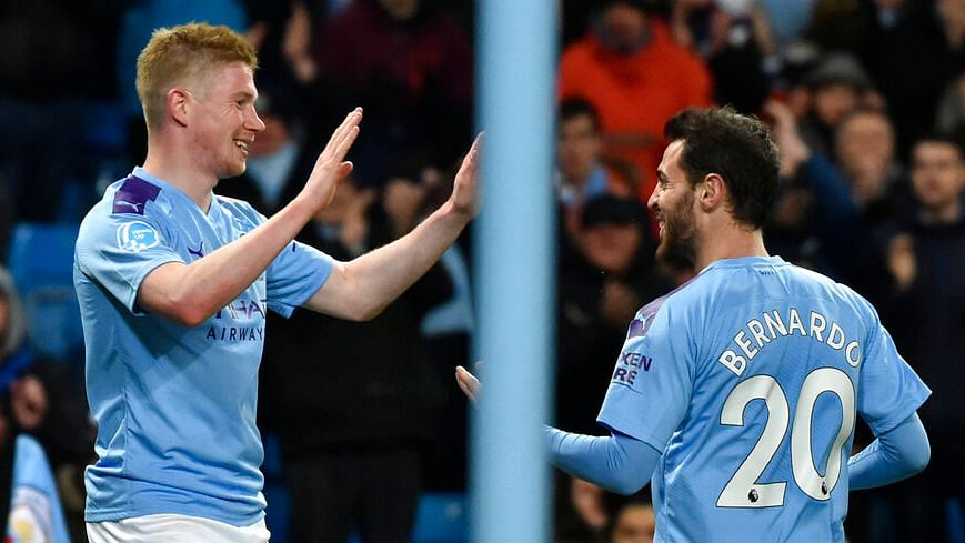 Man City Beat West Ham 2-0 to Backdrop of Anti-UEFA Chants