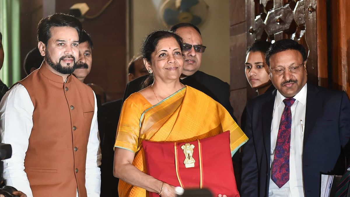 "Presenting Budget 2020 in Parliament, Sitharaman said that the GST was a historic structural reform that ""integrated the country economically""."
