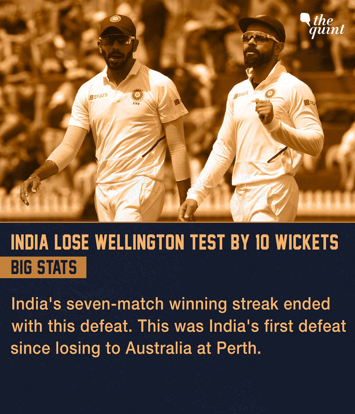 Stats: 100th Test Win For Kiwis, 1st Loss for India in Test C'ship