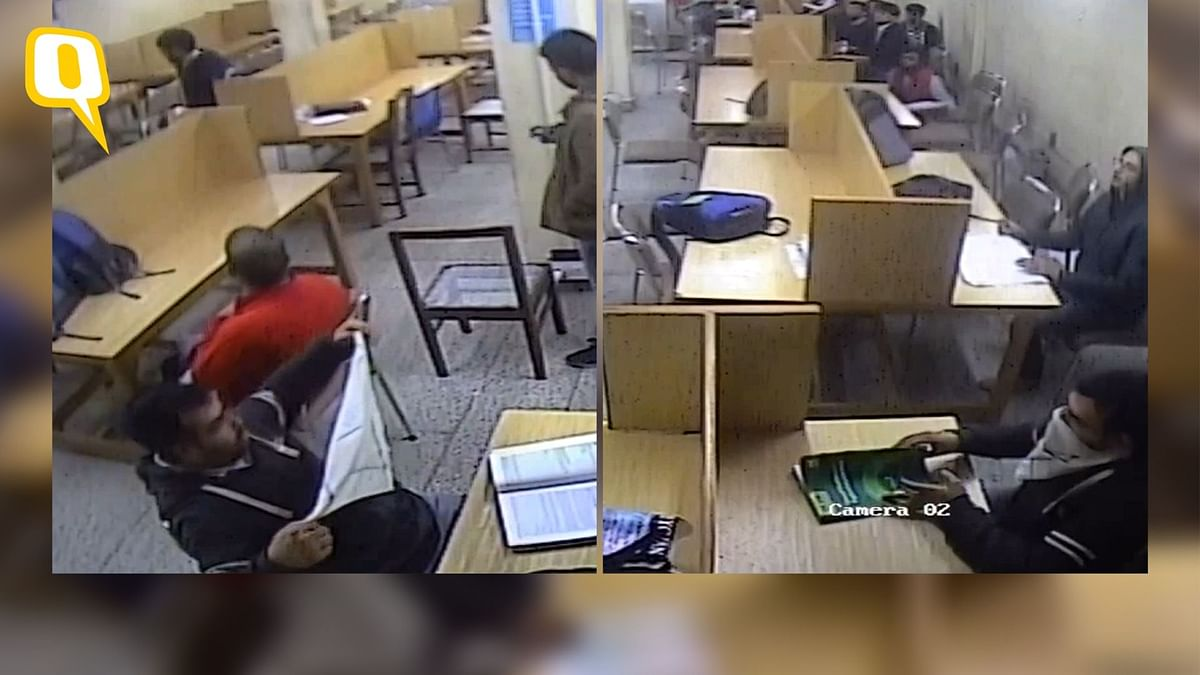 'Wore Mask in Library Due to Tear Gas': Jamia Student on CCTV Clip