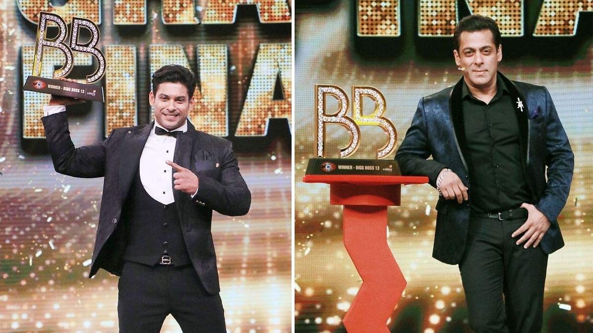 In Pics: Sidharth Shukla Lifts the Bigg Boss 13 Winner Trophy
