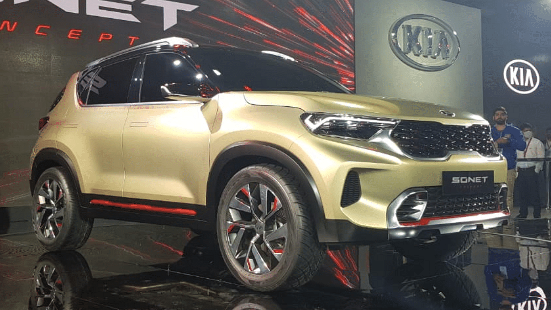 Kia Motors Unveils New Sonet SUV in India Priced at Rs 7 Lakhs