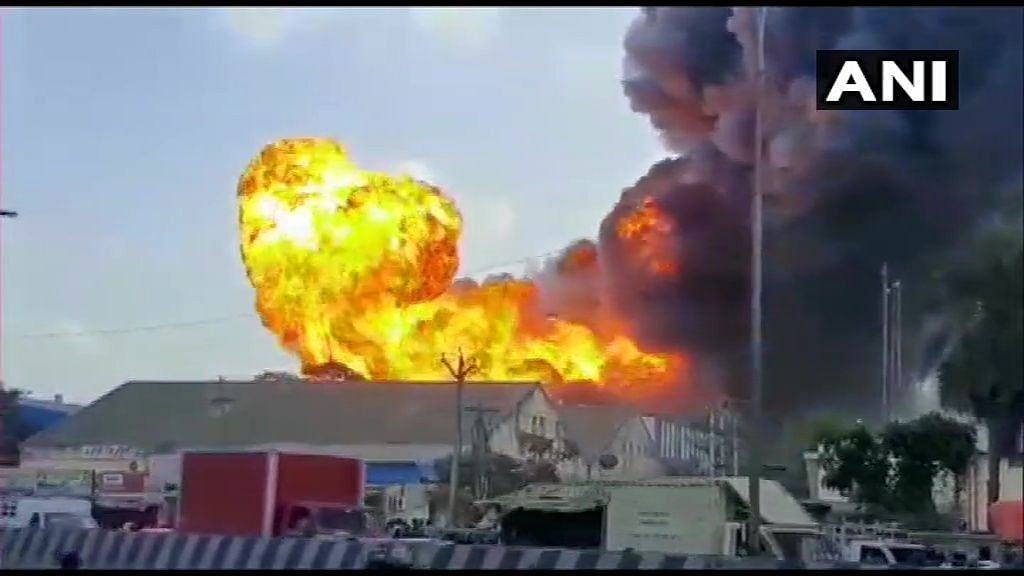 Fire at Chennai Warehouse, Rs 100 Cr Worth Raw Material Destroyed