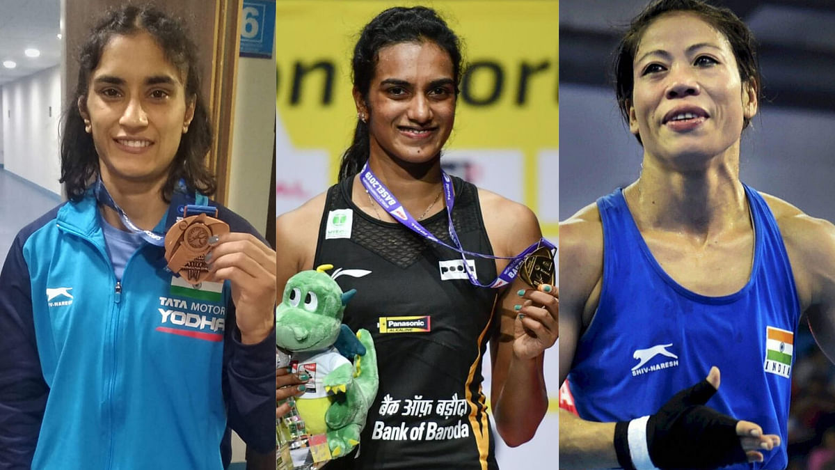 Vinesh, Sindhu, Mary Kom Nominated for BBC Sportswoman of the Year