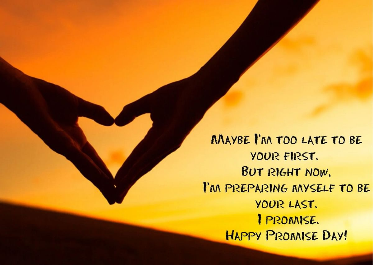 Promise Day Wishes in English