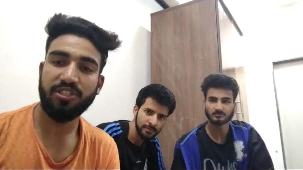 Three Kashmiri students studying at KLE college in Hubballi were arrested after a video of them allegedly raising pro-Pakistan slogans went viral on social media.