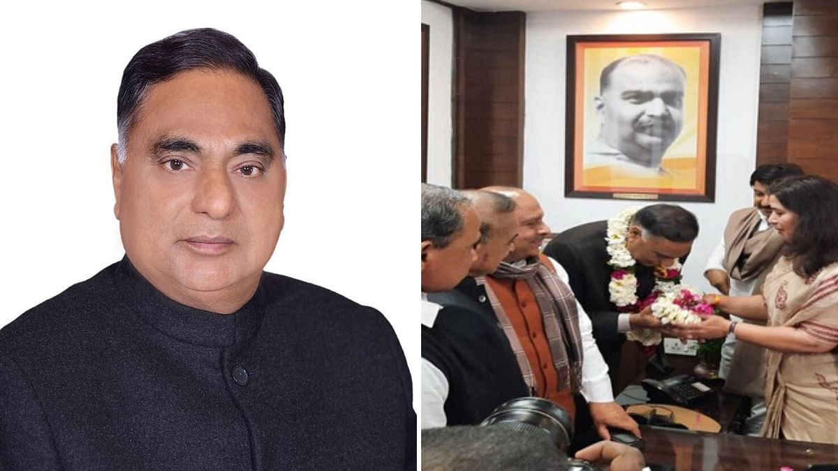 BJP's Badarpur MLA Ramvir Singh Bidhuri was on Monday, 24 February, unanimously appointed by the party as the Leader of Opposition in the 7th Delhi Assembly.