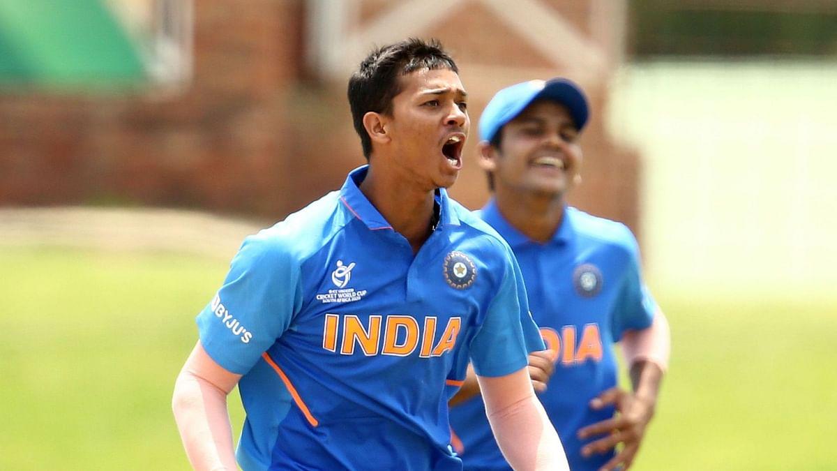 Yashasvi was the go-to bowler for skipper Priyam Garg, whenever