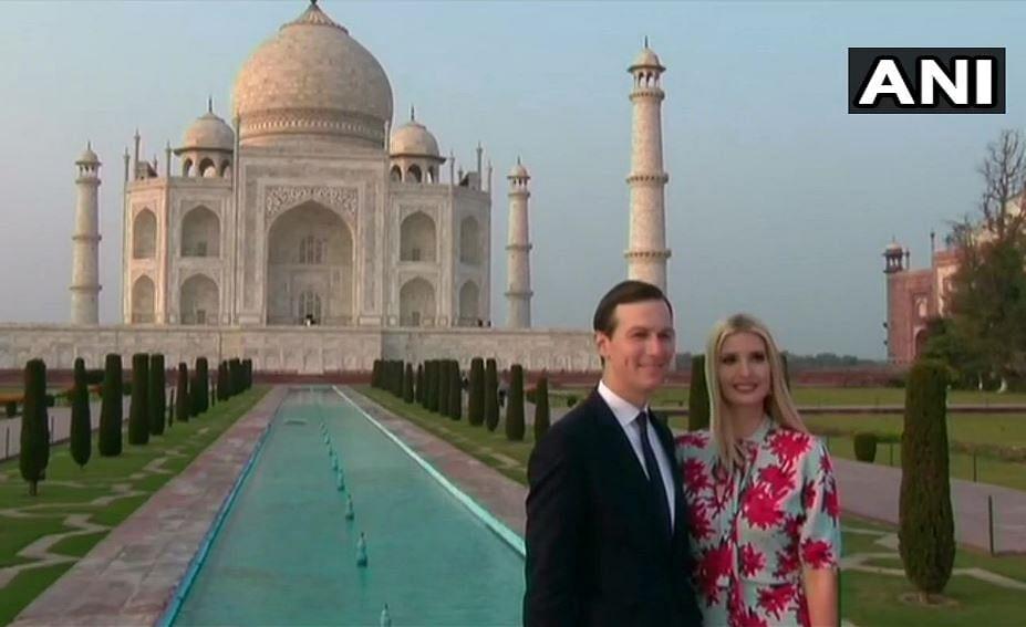 'Inspires Awe': Trump After Taj Mahal Stroll  With Melania Trump