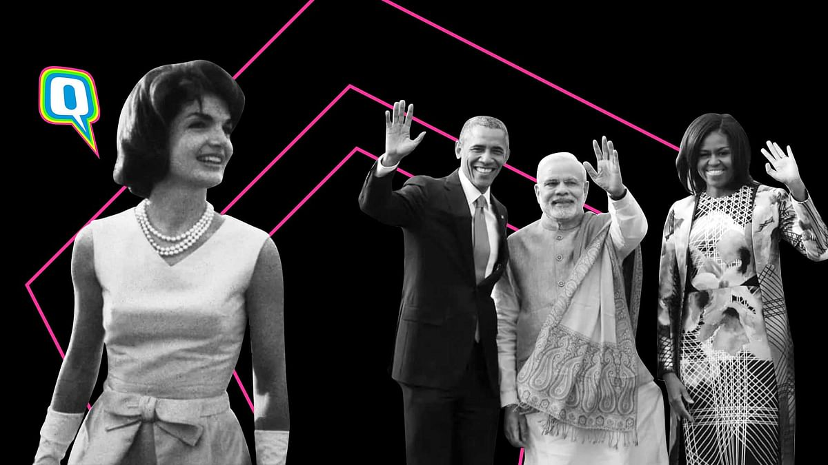 What US First Ladies Wore on Their First Visit to India
