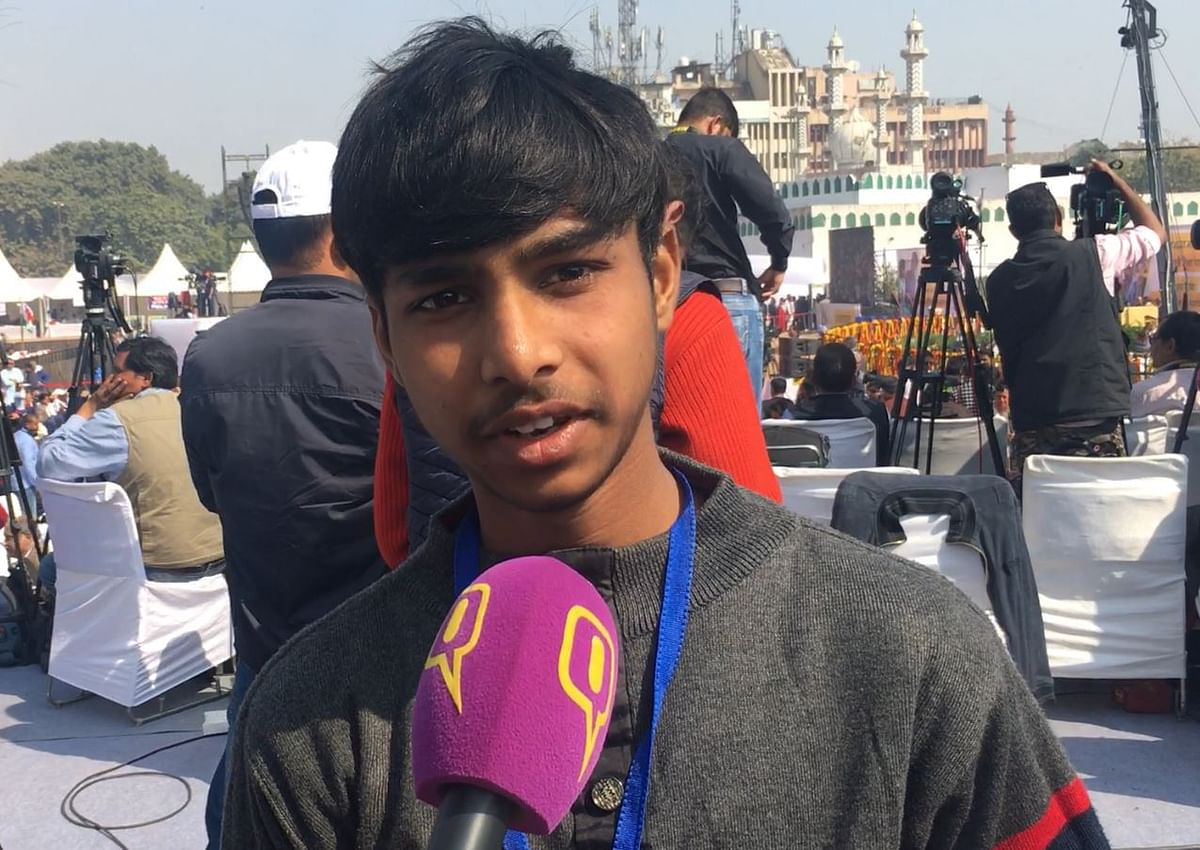 17-year-old Vijay secured admission to IIT-Delhi after receiving free coaching from the government's Jai Bhim Mukhya-mantri Pratibha Vikas Yojna.