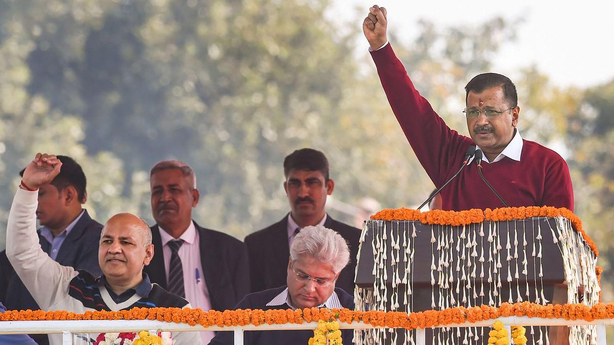 Arvind Kejriwal swearing-in ceremony as Delhi CM LIVE Updates.